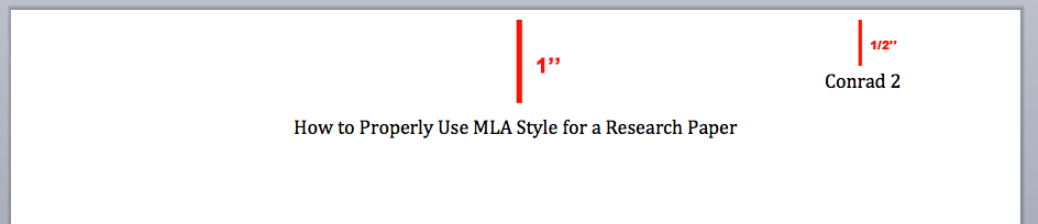 what is a mla header