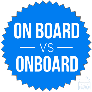 On board versus onboard