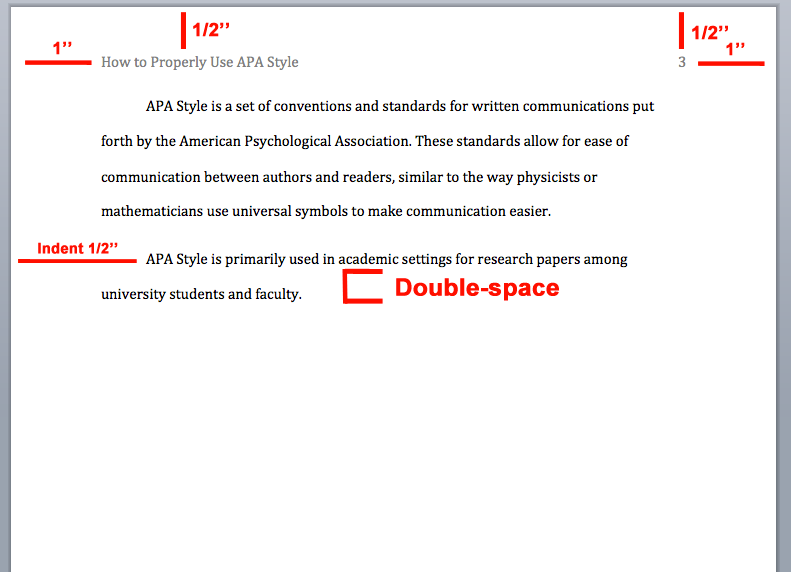 APA Citation Style Overview