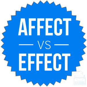 The difference between affect and effect yahoo dating