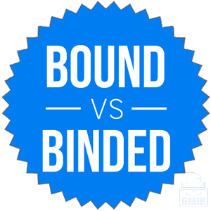binded versus bound
