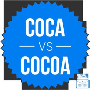 coca versus cocoa