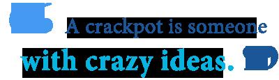 crackpot definition