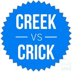 creek versus crick