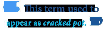 define crackpot