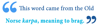 definition of carp