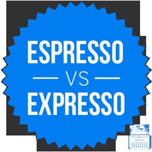expresso versus espresso