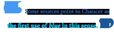 feeling blue definition