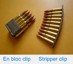 gun clip vs gun magazine