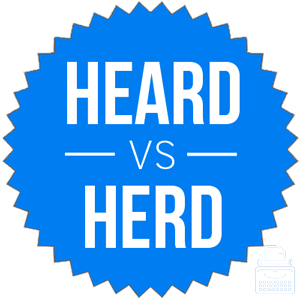 heard versus herd
