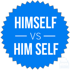 himself versus him self