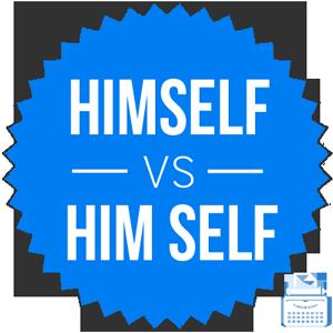 himself versus him self