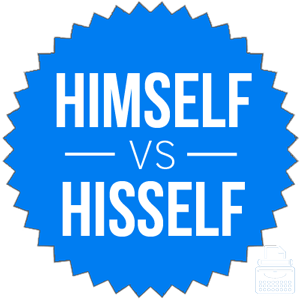 himself versus hisself