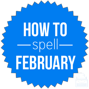 how to spell February