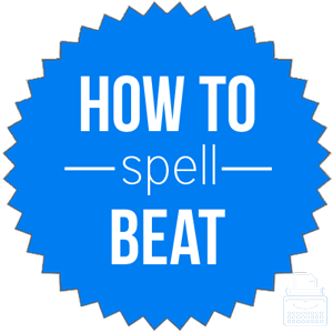 how to spell beat