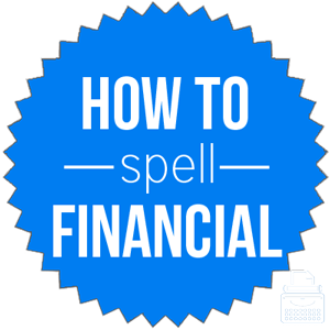 how to spell financial