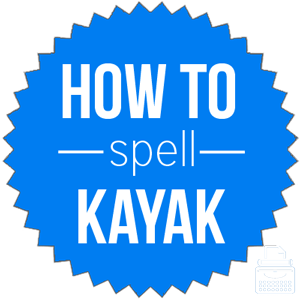 how to spell kayak