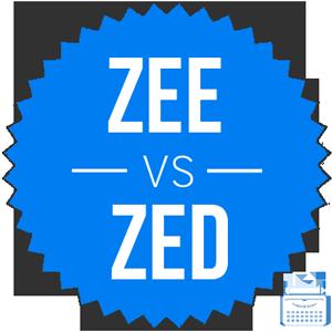is it zed or zee
