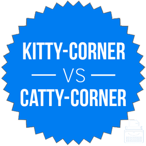 kitty or catty corner
