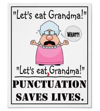 let's eat, grandma