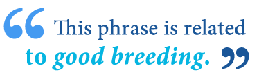 meaning of breeding will tell