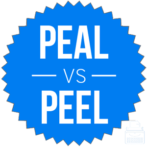 peel vs peal