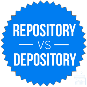 repository versus depository