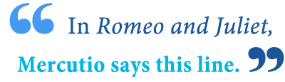 romeo and juliet a plague on both your houses