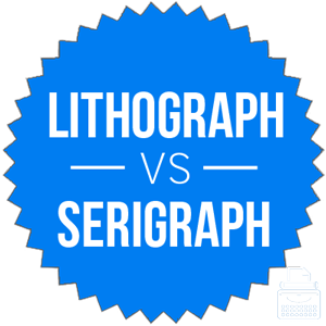 serigraph versus lithograph