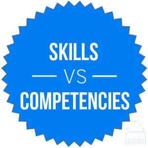 skills versus competencies