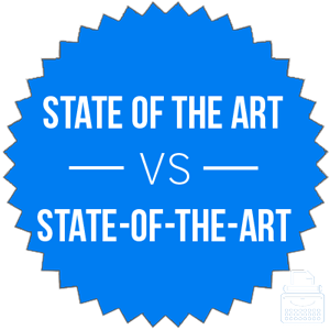 state of the art versus state-of-the-art
