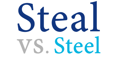 steal versus steel