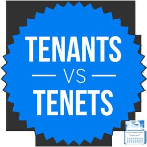 tenants versus tenets