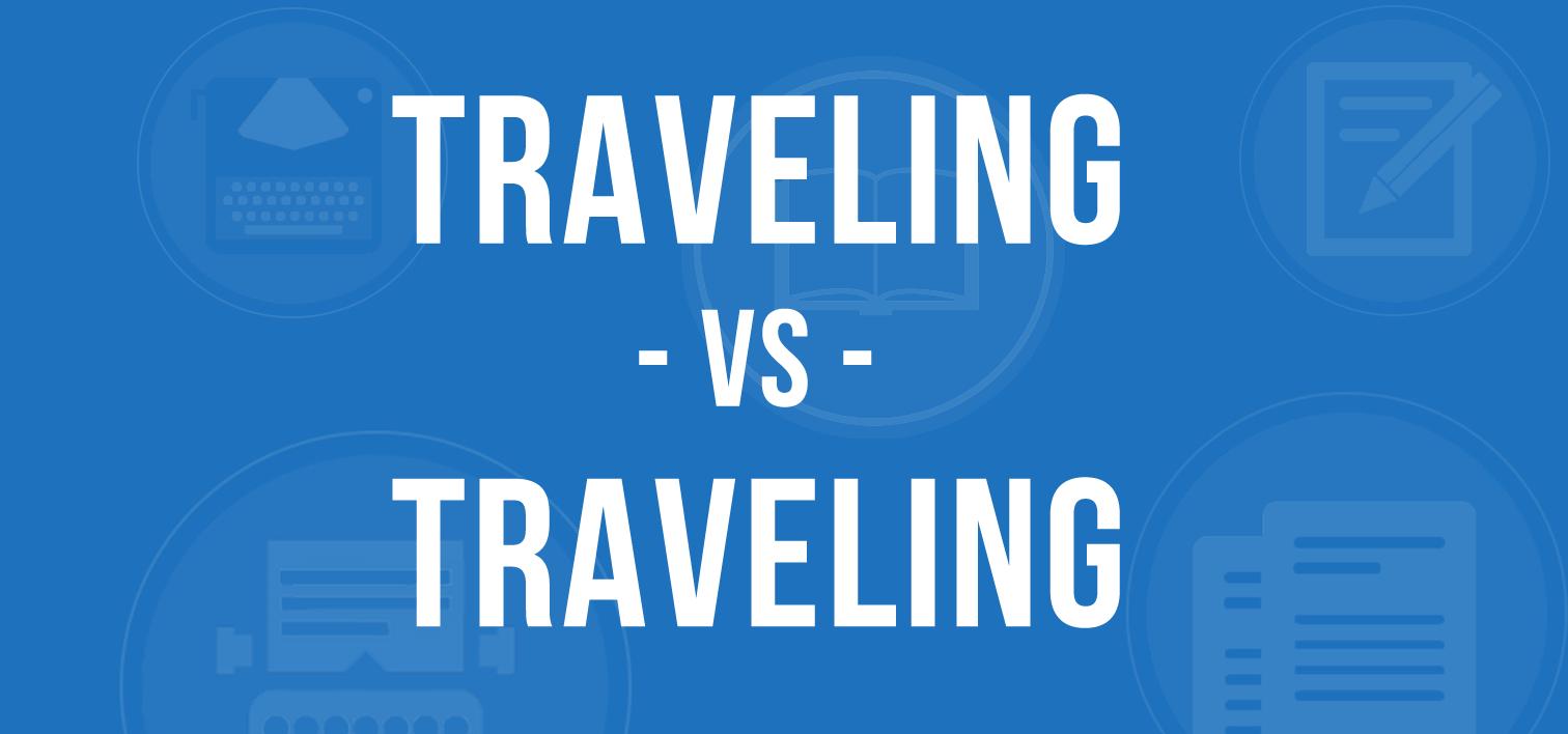 traveling versus travelling