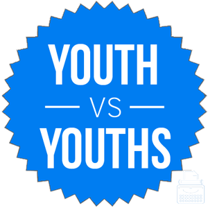 youth versus youths